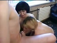 Amateur, Old and Young, Threesome