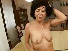 Granny, Hairy, Old and Young, Orgasm