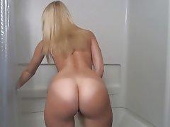 Big Butts, Blonde, Close Up, Masturbation, Orgasm