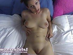 Amateur, Brunette, Masturbation, POV