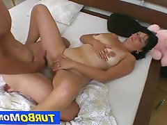 Mature, MILF, Czech, Brunette, Old and Young