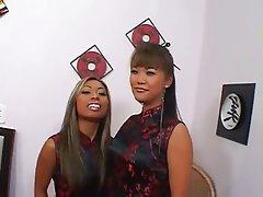 Asian, Threesome