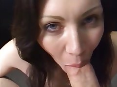 Babe, Blowjob, Cum in mouth, MILF
