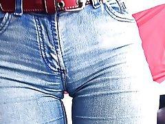Big Boobs, Big Butts, Brunette, Teen, Jeans