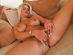 Babe, Blonde, Masturbation, Pussy, Solo