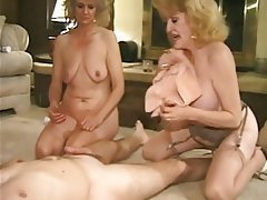 Granny, Group Sex, Mature, MILF, Old and Young