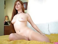 Webcam, Amateur, Blowjob, Redhead