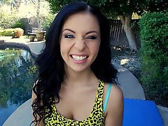 Babe, Brunette, Cute, Interracial