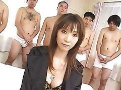 Asian, Bukkake, Cumshot, Facial, Hardcore