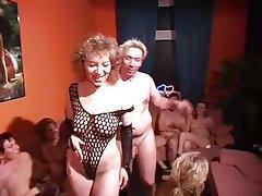 German, Group Sex, Swinger