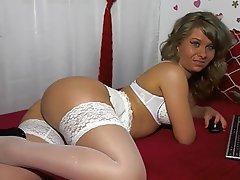 Amateur, Lingerie, Blonde, Webcam