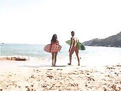 Anal, Beach, Brazil, Cumshot, Pornstar