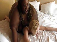 BBW, Face Sitting, Interracial, Lesbian