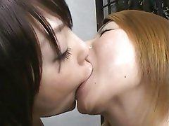 Asian, Babe, Close Up, Japanese, Lesbian