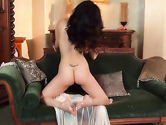 Babe, Big Tits, Feet, Masturbation, Stockings