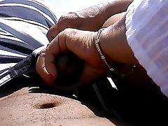 Amateur, Beach, Handjob, Old and Young